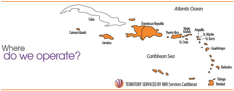 We are located in San Juan, Puerto Rico and cover the caribbean